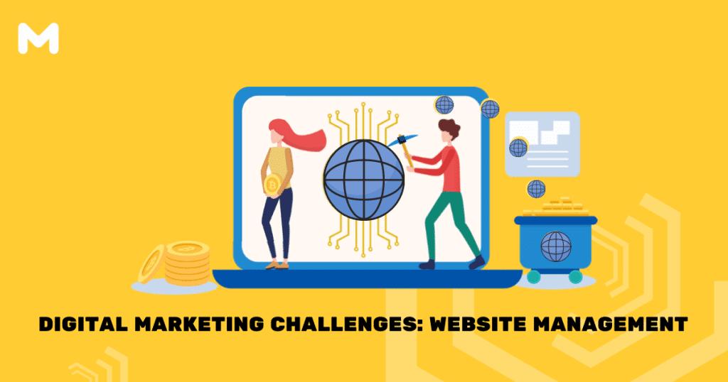 Digital Marketing Challenges Website Management
