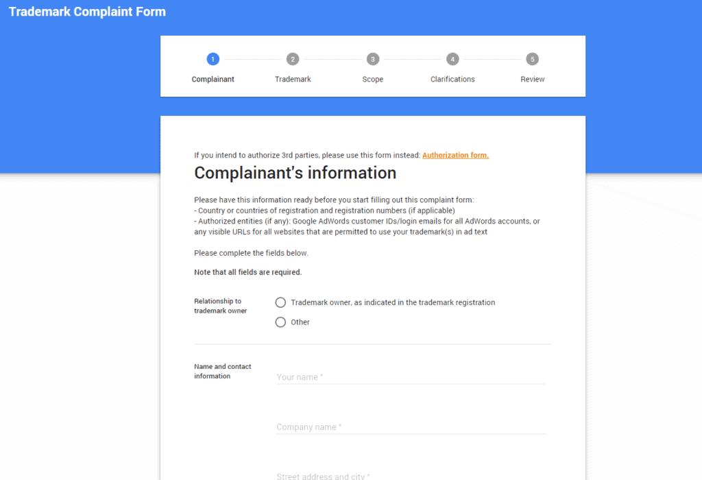 complaint-information